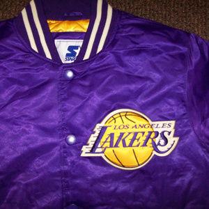 LOS ANGELES LAKERS NBA Starter Jacket S 2X
